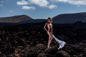 Shooting mit Rieke in Lanzarote
